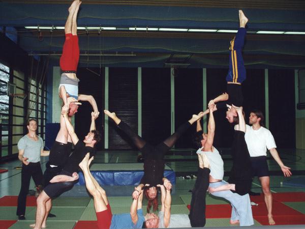 Akrobatik Übungen